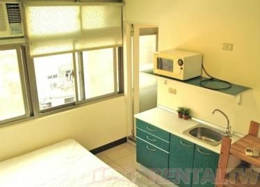 Guting MRT station single bed studio