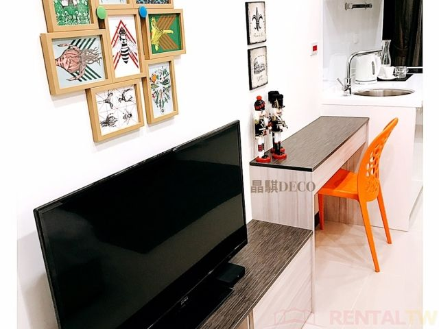 Brand New Building 1 Bedrooms Apartment with Gym Pool,Taipei #1