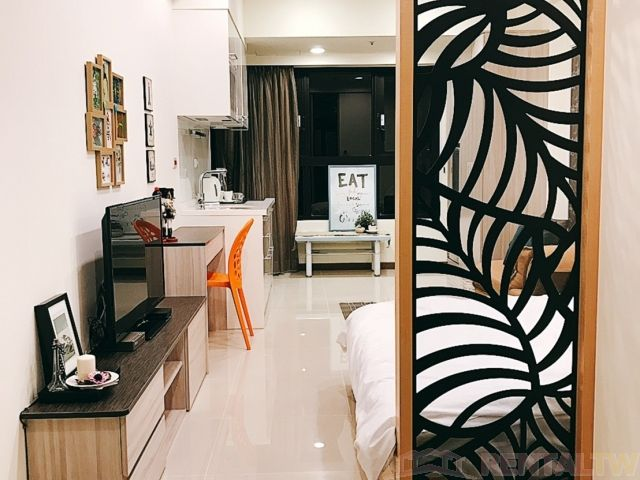 Beautifully Decor One Bedroom Apartment in New Building,Taipei #9