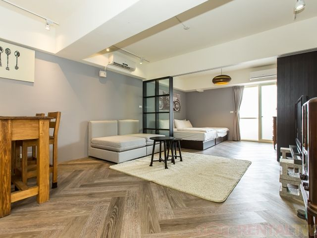 Beautiful One Bedroom Short Term Rental near Taipei Station