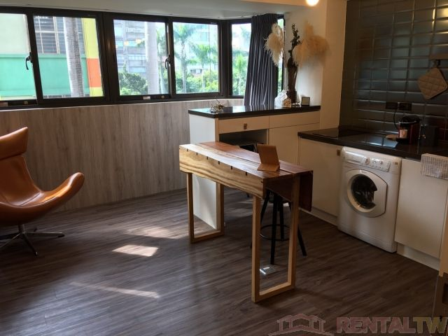 Gorgeous Brand New Decor One Bedroom Kitchen near MRT,Taipei #0